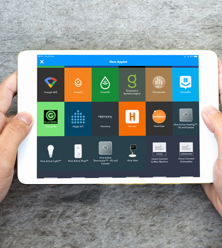 Smart Home Software - IFTTT